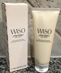 SHISEIDO  Waso Soft + Cushy Polisher 2.7 oz Smooths skin-Clears Complexion NIB