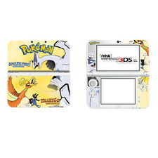 Pokemon Vinyl Decal Cover Skin Sticker for New Nintendo 3DS XL LL Console