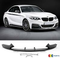 BMW NEW GENUINE 2 SERIES F22 M PERFORMANCE FRONT BUMPER SPOILER KIT 2343367