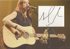 AMY MACDONALD Signed 12x8 Photo Display THIS IS THE LIFE COA