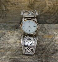 Vintage Men's Sterling Silver Antelope Watch