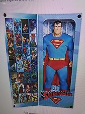 NEW EXCLUSIVE 19 INCH SUPERMAN -TRIBUTE SERIES BIG FIGS ( RARE) HARD TO FIND