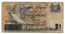 SINGAPORE RARA BANCONOTA DA 1 DOLLARO