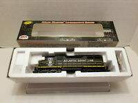 Atlas Master 61' ACL Diesel Locomotive - Black/Yellow 9213 - DCC Equipped