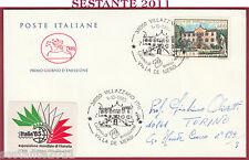 ITALIA FDC CAVALLINO VILLE D'ITALIA VILLA DE MERSI VILLAZZANO TN 1985 Y908