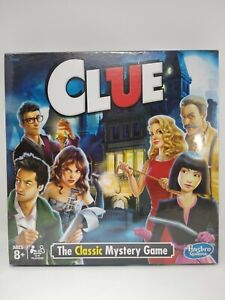 Clue Board Game by Hasbro New Sealed