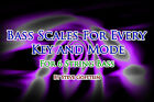 6 STRING BASS GUITAR SCALES ALL MODES & KEYS PDF BOOK