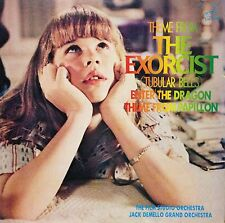 ♪OST MOVIE THEME THE EXORCIST LP w/Insert JAPAN Jazz Funk Breaks LISTEN MP3