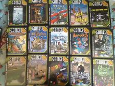 Collezione 16 giochi completi TOP GAMES per PC anche SEPARATAMENTE