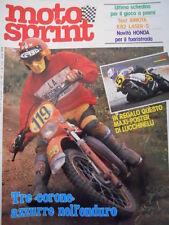 Motosprint 26 1981 Test BIMOTA KB2 Laser-S - Novità Honda Fuoristrada [SC.31]