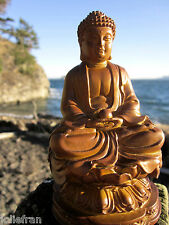 EXQUISITELY DETAILED BEAUTIFUL TIBETAN BUDDHIST SHAKYAMUNI BUDDHA STATUE 4 1/4""