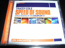 Tracey Cole Speed Of Sound (Coldplay Cover) Remixes Almighty Rare CD Single