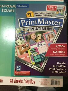 Broderbund PrintMaster 2011 for Mac