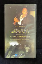 CS12> FILM VHS IL COMMISSARIO MONTALBANO - IL CANE DI TERRACOTTA - RAI/TRADE