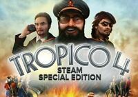 TROPICO 4 Special Edition Region Free Worldwide Global For Steam PC CD Key