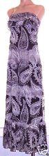 Eyelash Couture S, small sleeveless ruffled empire waist maxi dress