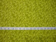 Australian Eucalyptus Leaves and Gumnuts Green Cotton Quilting Fabric 1/2 YARD