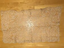Antique Vintage 17th 18th 19th Century Dress Lace Scarf Shawl