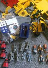 COBI DR WHO TARDIS & OTHER PIECES + FIGURES