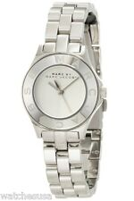 Marc By Marc Jacobs Blade Mini Silver Tone Stainless Steel Watch MBM3130