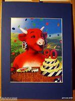 alte Reklame Druck Passepartouts 80er Camenbert 36x26 cm 871