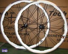 """Cerchi Ruote Bicicletta 28"""" bici CORSA anteriore posteriore mozzo CASSETTA 8/9 V"""