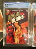 KAIJU SCORE #1 CBCS 9.8 CGC 9.8 🔥OPTIONED Sony Major MOVIE & 1st Appearance 📈!