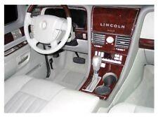 LINCOLN AVIATOR SET FIT 2003 2004 2005 006 NEW STYLE INTERIOR WOOD DASH TRIM KIT