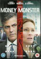 MONEY MONSTER GEORGE CLOONEY JACK O'CONNELL JULIA ROBERTS SONY UK 2016 DVD NEW