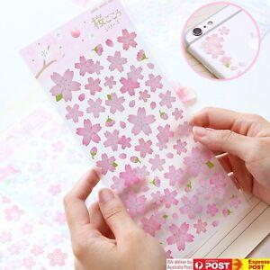 JAPAN Mind Wave [Sakura / Cherry Blossom] Sticker Sheet Scrapbooking Phone Case