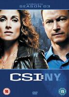 Csi New York Temporada 3 DVD Nuevo DVD (MP1048D)