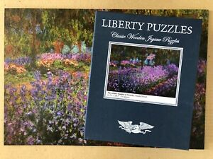 Liberty Wooden Puzzle Artist's Garden at Giverny Claude Monet 531 Pc. USA Made