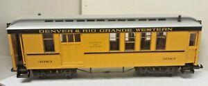 Denver Rio Grande Western Railroad Passenger Combine Car 3083 LGB 3083