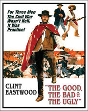 1966 THE GOOD THE BAD AND THE UGLY Clint Eastwood Glossy 8x10 Photo Poster Print