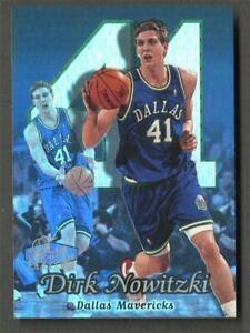 1998 Flair Showcase Dirk Nowitzki Row 2 RC Rookie #16