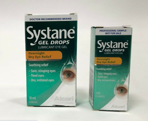 SYSTANE Gel Eye Drops Lubricant Overnight Dye Eye Gel Drops - 10ml + FREE 3ml