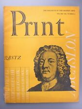 Print: The Magazine of the Graphic Arts, Vol. 8, No. 2, August, 1953