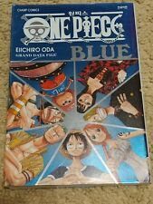 "JAPAN Eiichiro Oda: One Piece Data & Artbook GRAND DATA FILE ""BLUE"""