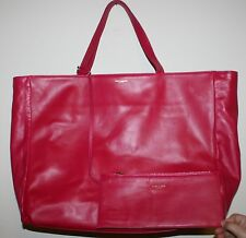NWT NEW YSL YVES SAINT LAURENT LARGE LEATHER TOTE BAG HANDBAG & WALLET
