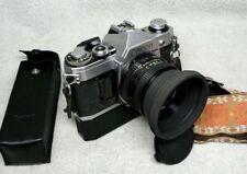 Nice CANON AE-1 35mm SLR Film Camera w/ 50mm f/1.8 FD Lens & Power Winder A