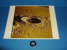 "NASA APOLLO MOON SURFACE PHOTOGRAPH ""A KODAK PAPER"" WATERMARK ORIGINAL"