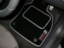 Black/Grey Sport Edition Car Mats To Fit BMW X3 E83 (2003-2010) + Logos