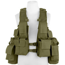 Mfh South African Assault Vest Airsoft Hunting Paintball Combat Army Od Green
