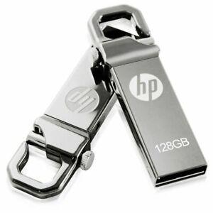 Hp 128 GB Usb Flash Drive V250w - Sleek And Slim Metal Design - Easy Plug & Play
