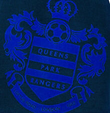 Queens Park Rangers FC Flock Large Club Badge QPR FC THICK Woolly Beanie Hat 75fab7062d44