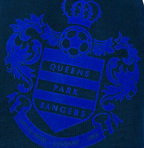 Queens Park Rangers FC   THICK HATBig Club Badge QPR FC THICK Woolly Beanie Hat