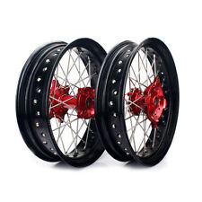 Complete  Supermoto Wheels Set For Honda XR650l XR 650 L 17 inches