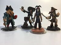Disney Infinity 1.0 Pirates of the Caribbean Jack Sparrow Davy Jones Figures