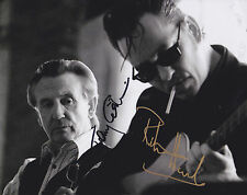 Richard Hawley & Tony Christie HAND SIGNED 8x10 Photo, Coles Corner, Amarillo C