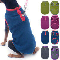 Haustier Hund Katze Kleidung Fleece Warm Weste Mantel Jacke Hundepullover Welpen